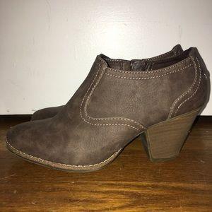 Dr. Scholls size 8 brown booties